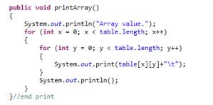 Programming Exercise: Magic Square
