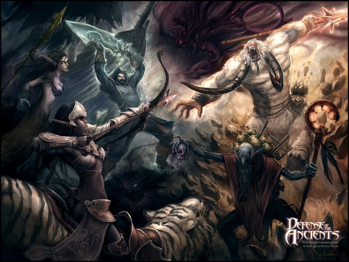 One of the many great Dota loading screens