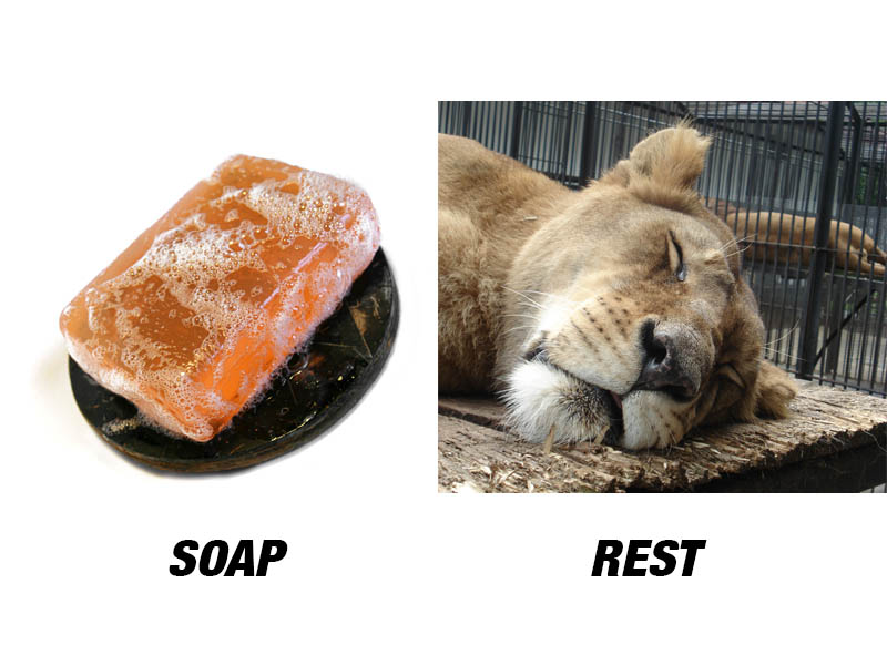 More funky acronyms: SOAP and REST.